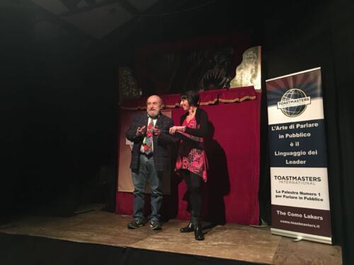 Serata Toastmasters con Enrico Beruschi